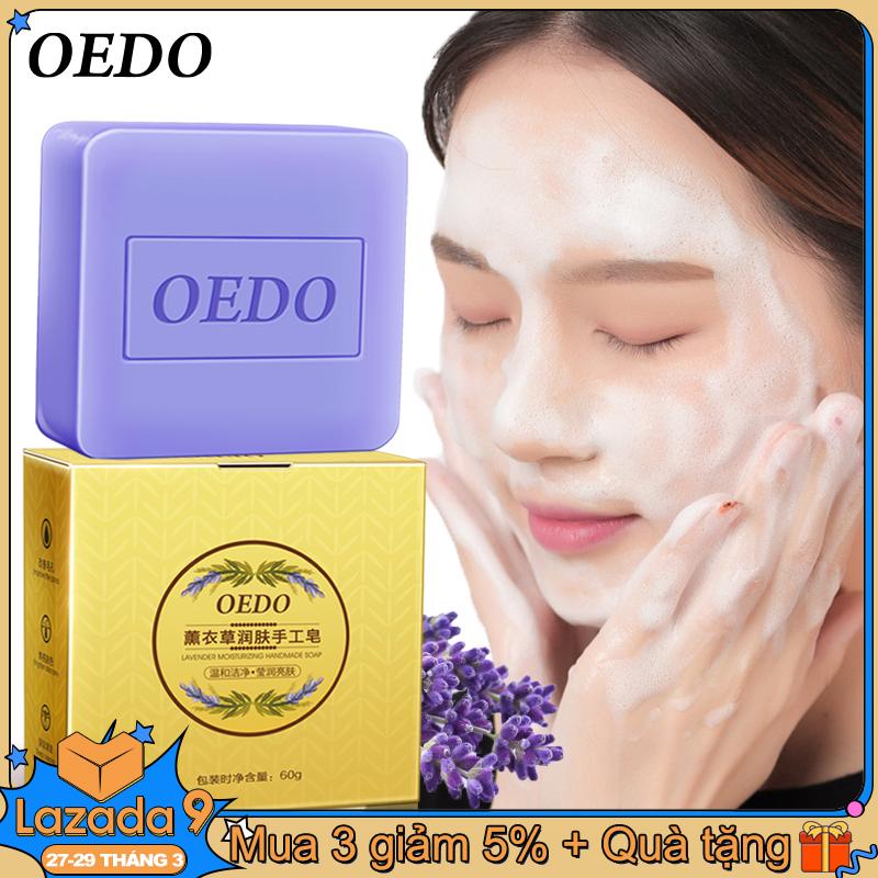 OEDO Xà phòng thủ công giữ ẩm làm sạch sâu làm sáng tông màu da chăm sóc da mặt cải thiện lỗ chân lôngmùi hoa oải hương - INTL