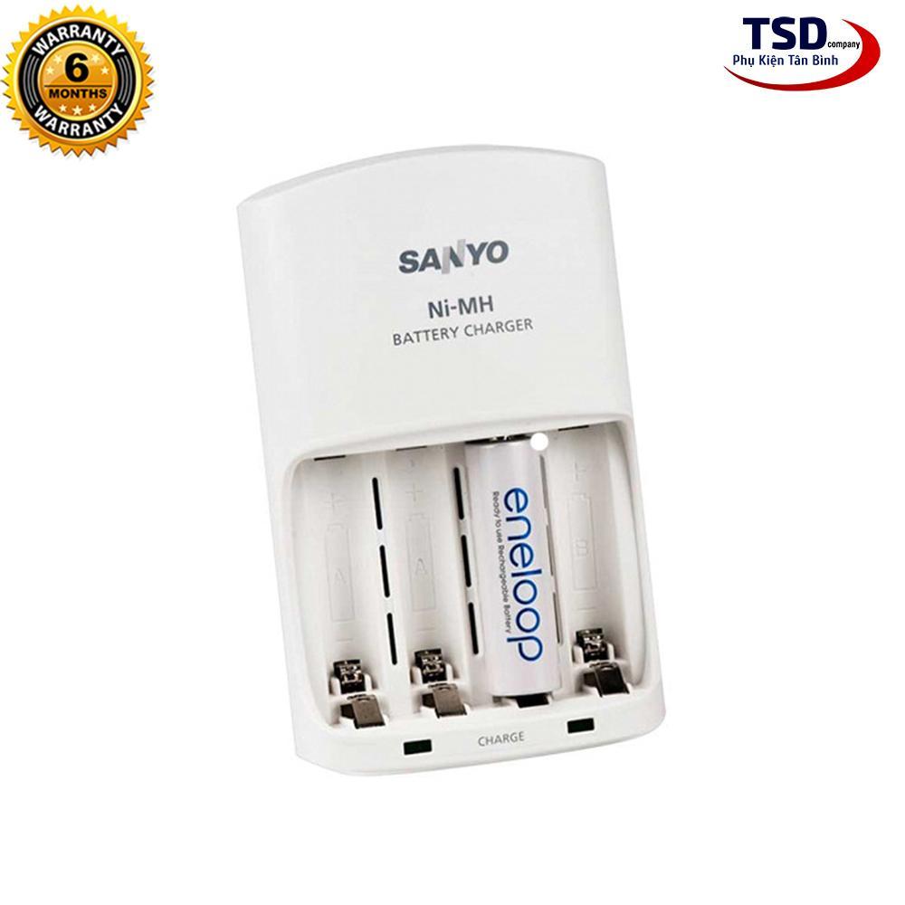 Bộ Sạc Pin AA / AAA Sanyo Eneloop Giá Sốc Không Thể Bỏ Qua