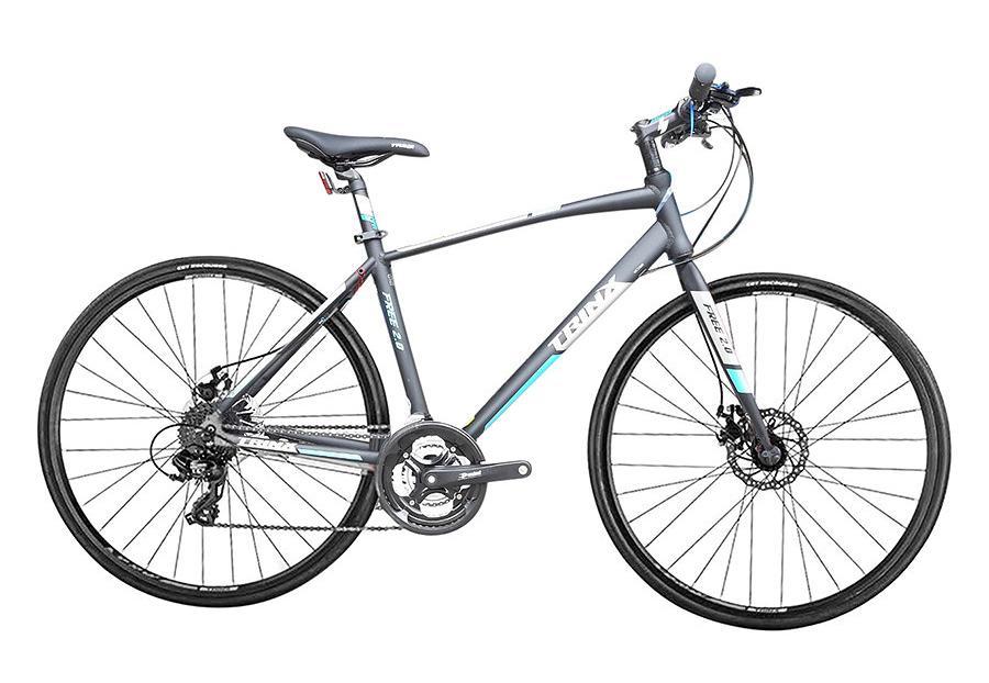 Mua Xe đạp thể thao TRINX FREE 2.0 2018 Đen xám