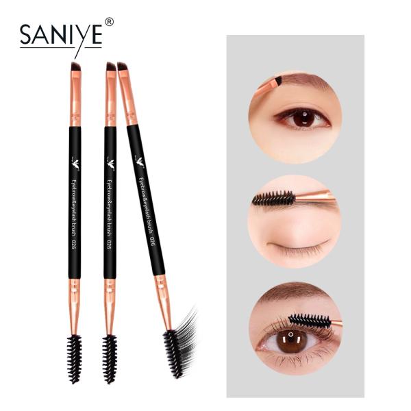 Cọ trang điểm hai đầu chuyên nghiệp SANIYE chất lượng cao cho lông mày A026 - INTL