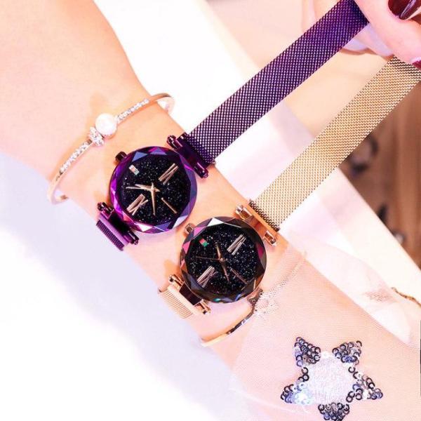 Nơi bán Đồng hồ thời trang nữ dây lưới nam châm ULZZANG SA10