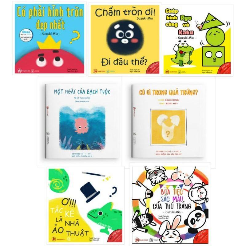 Mua Combo 7 quyển Ehon hình khối và màu sắc - Ehon Nhật Bản Wabooks