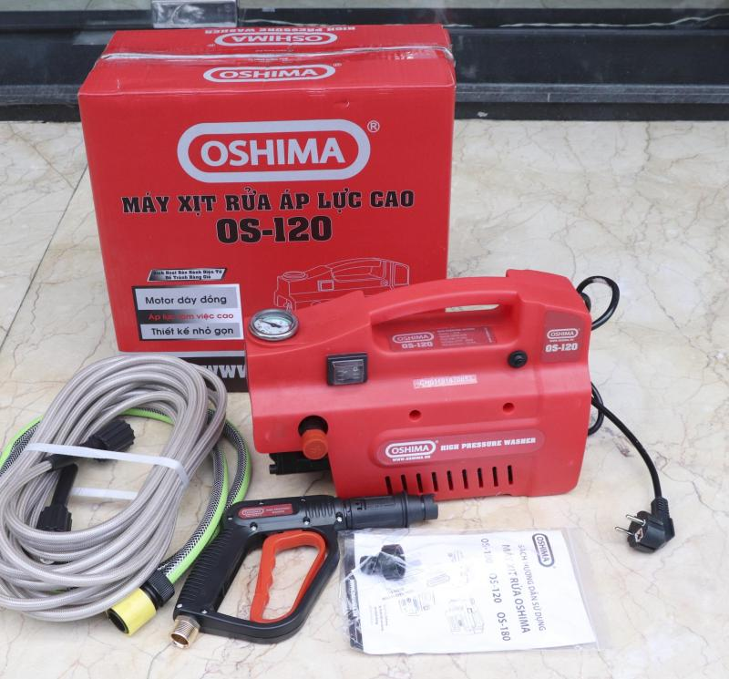 Máy Rửa Xe Oshima 1500W OS 120 new