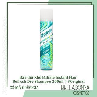 [ 2 Size ][ 50ml-200ml ] Dầu Gội Khô Batiste Instant Hair Refresh Dry Shampoo Clean & Classic Original thumbnail