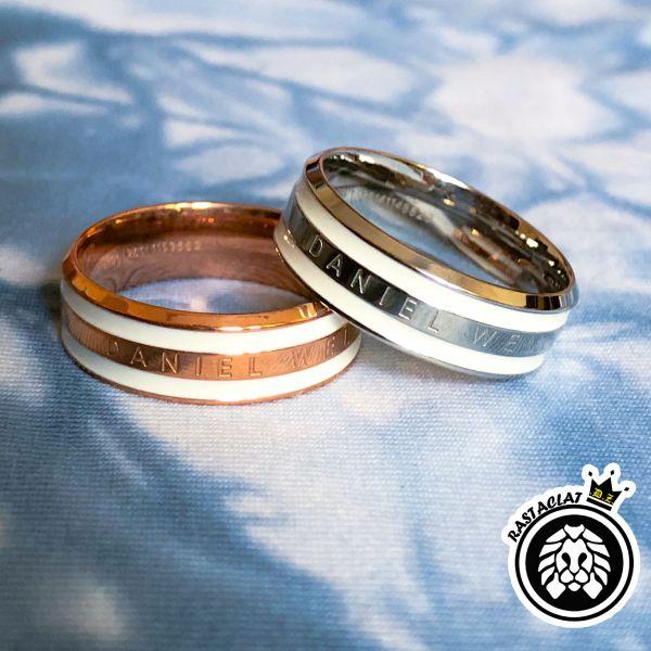 [Giá hủy diệt] Nhẫn DW v2 - Nhẫn cặp đôi thời trang Titanium thép không gỉ 316L [Bảo Hành 1 năm]