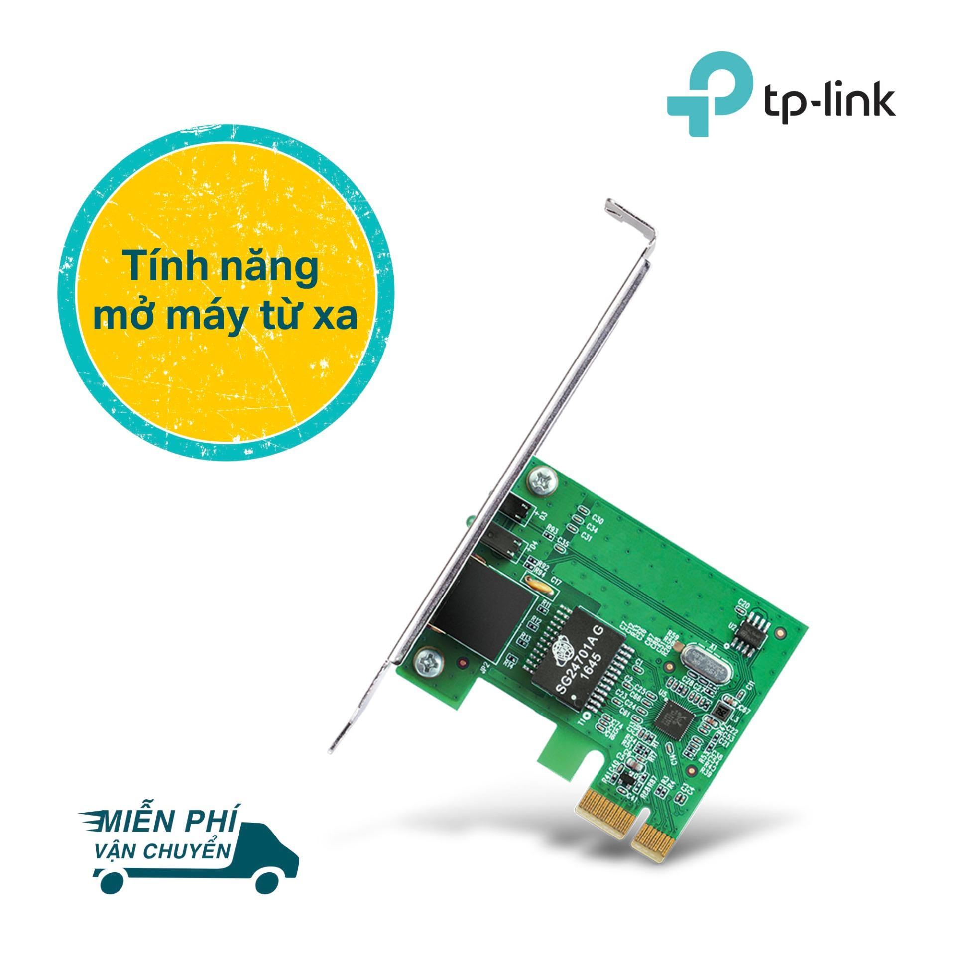 TP-Link Card mạng Wifi PCIe 10/100/1000Mbps Quản lý LAN thuận tiện - TG-3468 -Hãng phân phối chính thức