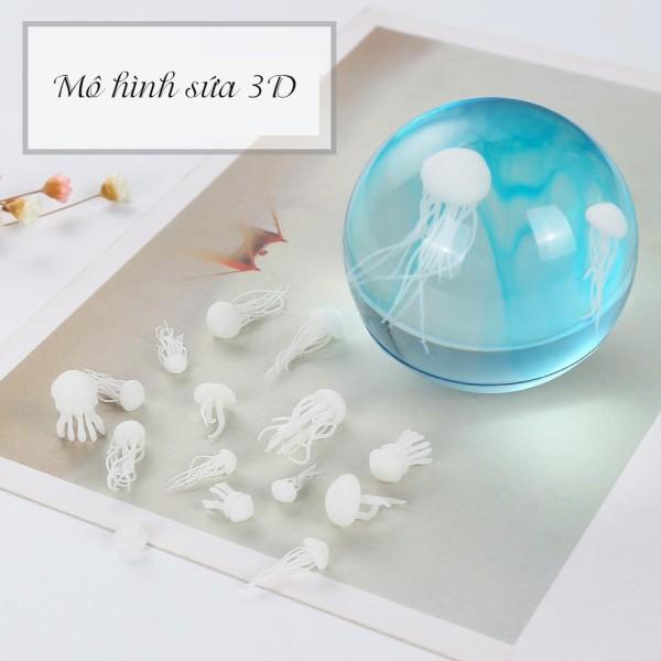 Mô Hình Sứa 3D - Phụ Kiện, Vật Liệu Handmade