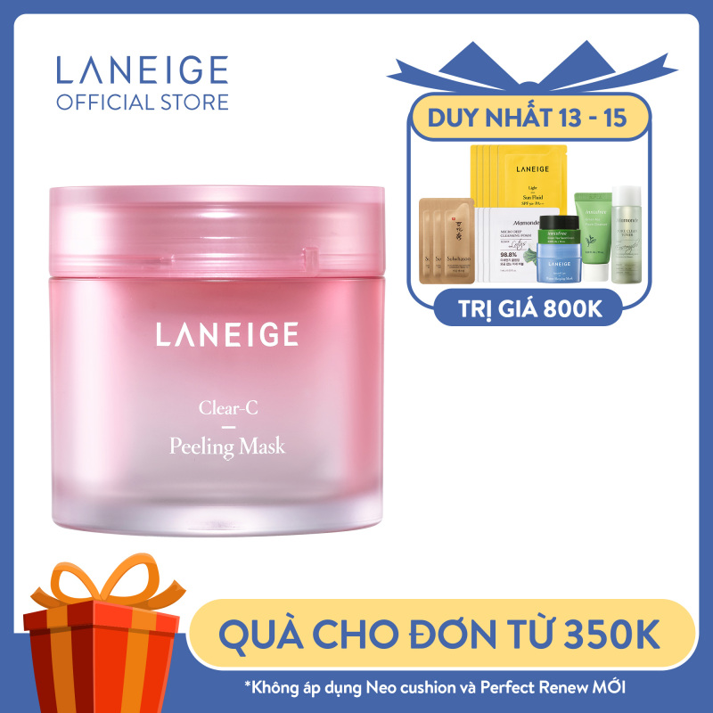 Mặt Nạ Tẩy Tế Bào Chết Dịu Nhẹ Cho Da Laneige Clear-C Peeling Mask 70ml giá rẻ