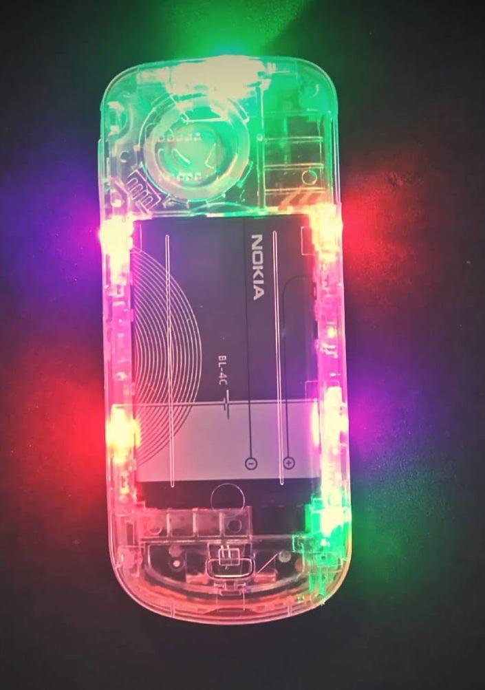 Giá Điện Thoại Nokia 1202 Độ Led Nháy Kèm Pin Sạc- Lắp Sim Là Dùng