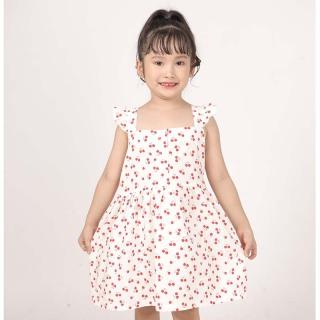 Thảo nguyên Kids Váy xòe in hình quả cherry thời trang cho bé gái thumbnail
