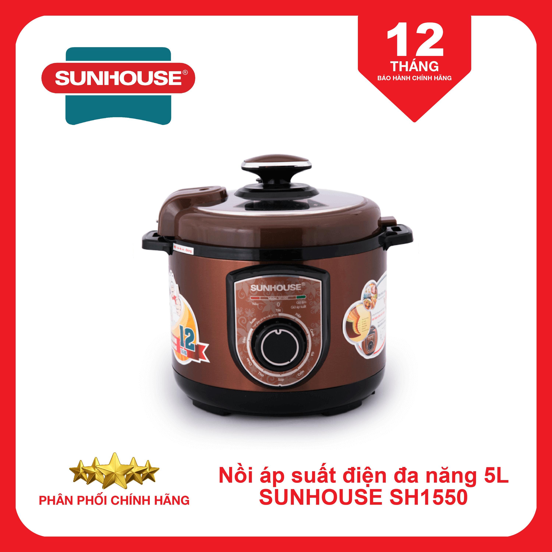 Nồi áp suất điện đa năng SUNHOUSE SHD1550