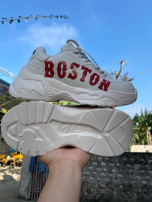 [FLASH SALE] Giày Thể Thao Boston  Nam  Nữ Trắng Siêu Khuyến Mại TẶNG KÈM LỌ  TẨY TRẮNG GIÀY giá rẻ