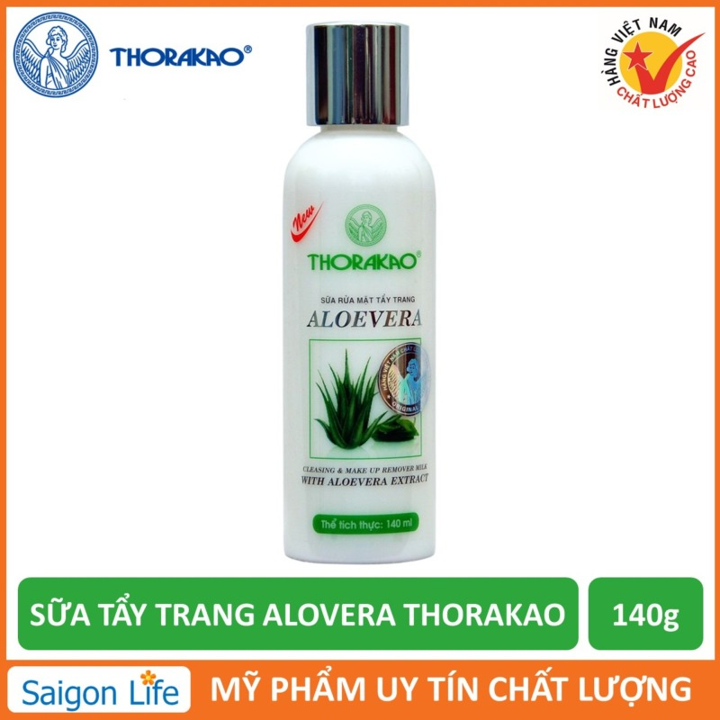 Sữa Tẩy Trang Aloevera Thorakao 140g giá rẻ