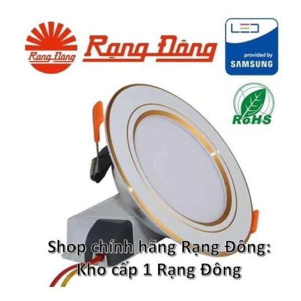 [Trả góp 0%]40 Đèn LED âm trần mạ vàng 90/7W đổi 3 màu SAMSUNG chipLED