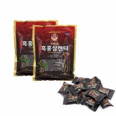 03 gói kẹo Hắc Sâm Hàn Quốc (300g) Nhật Bản