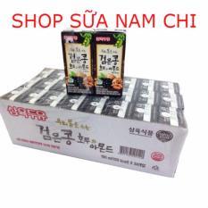 Ôn Tập Tốt Nhất 1 Thung 24 Hộp Sữa Oc Cho Hạnh Nhan Đậu Đen Han Quốc