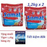Mua 2 Bột Somat 1 2Kg Nk Đức Tặng 1 2Kg Muối Tiger Cho May Rửa Chen Bat Rẻ