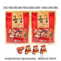 2 Kẹo Hồng Sam 200Gr Nhập Khẩu Cao Cấp Han Quốc Hàn Quốc Rẻ Trong Hồ Chí Minh