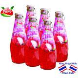 Giá Bán 6 Chai Nước Vải Thiều Bổ Sung Hạt Basil Seed Thailand Khong Ngon Chung Toi Hoan Tiền Pams