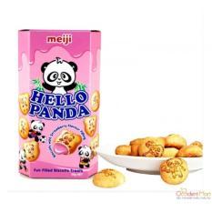 Hình ảnh Bánh gấu MEIJI Hello Panda 50gr - vị DÂU