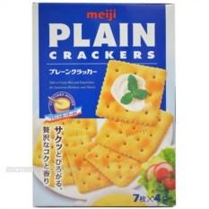 Hình ảnh Bánh Meiji PLAIN CRACKERS 52g - dành cho người ăn kiêng
