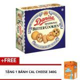 Banh Quy Bơ Danisa Butter 681G Tặng Banh Cal Cheese 340G Nguyên