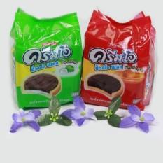 Hình ảnh Bánh quy CreamO Choco plus Jack & Jill vị Caramel Thái Lan