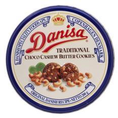 Hình ảnh Bánh quy Danisa Socola hạt điều Thái Lan hộp thiếc 200g