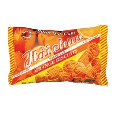 Hình ảnh Bộ 2 gói Bánh quy Hương cam 130gr
