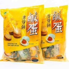 Hình ảnh Bánh Quy Nhân Trứng Muối Đài Loan 500gr DL01