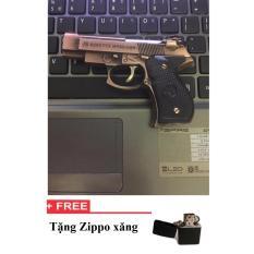 Giá Bán Bật Lửa Hinh M92G Vang Đồng Oem Nguyên