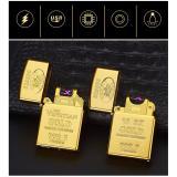 Giá Bán Bật Lửa Sạc Điện Cổng Usb 10 0Z Gold Mau Vang Độc Đao Loại Cao Cấp Mới