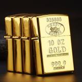 Bán Bật Lửa Sạc Điện Cổng Usb 2 Tia Chất Liệu Hợp Kim Kẽm Chống Gỉ 10Z Gold Big Mart Rẻ Nhất