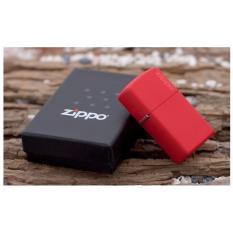 Ôn Tập Bật Lửa Zippo Logo Đỏ