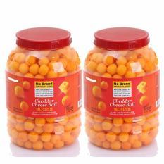 Bộ 02 Hủ Banh Vien Pho Mai Cheddar Cheese Ball 370G No Brand Chiết Khấu 40