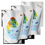 Mua Bộ 03 Tui Nước Giặt Bios Đậm Đặc 8 Hương Pureness Incense 900G Bios Rẻ