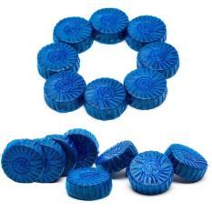 Bộ 10 viên tẩy diệt khuẩn thả bồn cầu (xanh)