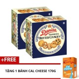Giá Bán Bọ 2 Banh Quy Bơ Danisa Butter 454G Tặng Banh Cal Cheese 170G Danisa Tốt Nhất