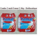 Ôn Tập Bộ 2 Bịch Bột Rửa Bat Somat 2 4G Đức Somat