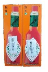 Bán Bộ 2 Chai Sốt Ớt Đỏ Tabasco Pepper Sauce 60Ml Mỹ Trong Đà Nẵng