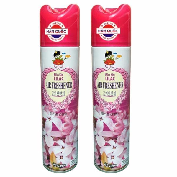 Bộ 2 Chai Xịt Thơm Phòng Hàn Quốc Sandokaebi 370ml Hương Lilac (Tử Đinh Hương) HPSV7