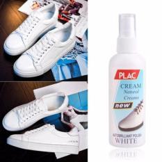 chai xịt vệ sinh, tẩy trắng giầy và túi xách PLAC 100ml (Trắng)