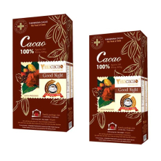 Giá Bán Bộ 2 Hộp Bột Cacao Nguyen Chất Good Night Hộp 150Gram Nguyên Vinacacao