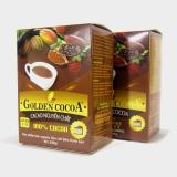 Giá Bán Bộ 2 Hộp Cacao Nguyen Chất Golden Cocoa 300G Lam Banh Rẻ