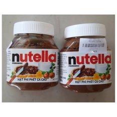Bán Bộ 2 Hộp So Co La Hạt Phỉ Nutella Hazelnut Spread 200Gx2 Có Thương Hiệu Rẻ