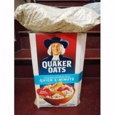Giá Bán Bộ 2 Nữa Thung Yến Mạch Nguyen Chất Quaker Oats Mỹ 1 Phut Nhãn Hiệu Thực Dưỡng Minh Nguyện