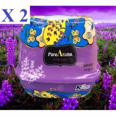 Mua Bộ 2 Sap Thơm Phong Khử Mui Cao Cấp Tiện Lợi Purearoma Korea Lavender Rẻ Hà Nội