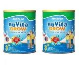 Bán Bộ 2 Sữa Bột Nuvita Grow 3 900G Trực Tuyến