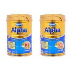 Bộ 2 Sữa Dielac Alpha Gold Step 2 900G Nguyên