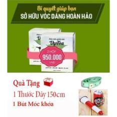 Bọ 2 Tra Giảm Can Vy Tea Tặng Bút Móc Khóa Thước Day Hà Nội Chiết Khấu 50